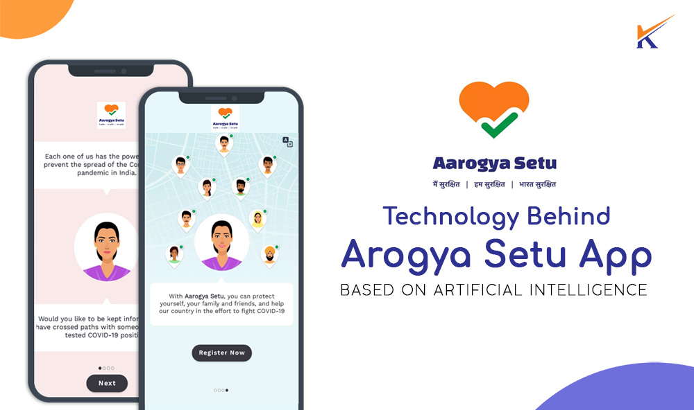 COVID-19: Decoding Arogya setu app with Data Science and Artificial Intelligence